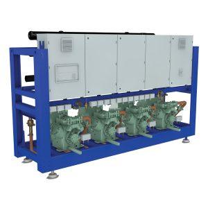 Compresores Semi Herméticos de  Media y Baja Temperatura de alta eficiencia.
