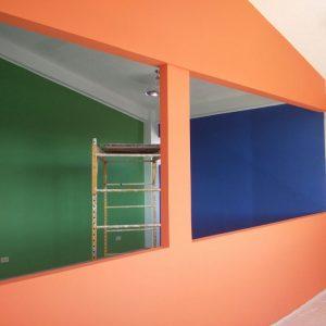 Panel de construcción de gypsum 3
