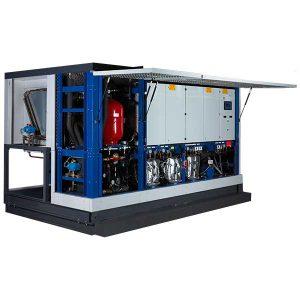 Combinación de temperatura media y baja  Calefacción y refrigeración integradas.
